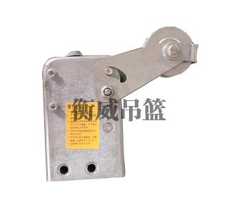 防倾斜式安全锁